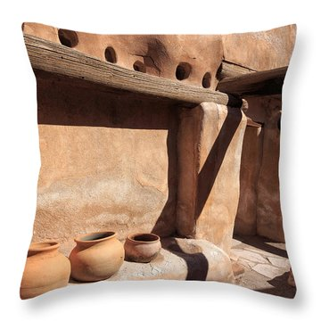 Adobe Throw Pillow