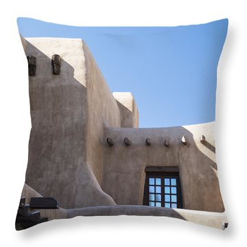 Adobe Sky Throw Pillow