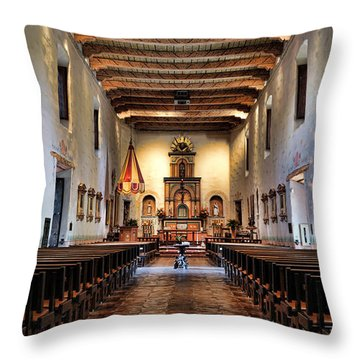 Adoration - San Diego De Alcala Throw Pillow