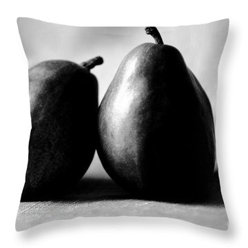 Adore Pair  Throw Pillow by Cathy Dee Janes