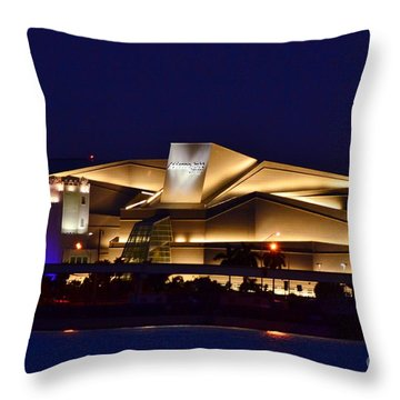 Adrienne Arsht Center Performing Art Throw Pillow