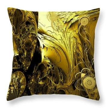 Advanced Mind Throw Pillow