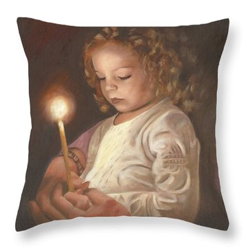 Advent Light Throw Pillow