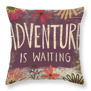 Adventure Throw Pillows