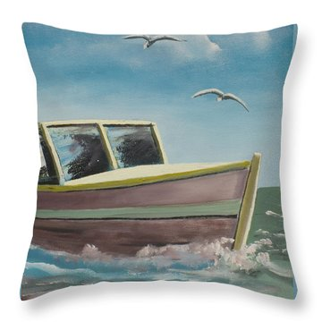 Adventure  Throw Pillow by Marcel Quesnel