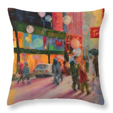 Advocate Of Dreams Throw Pillow by Marie Green