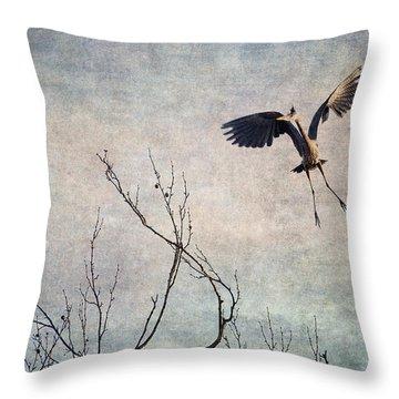 Aerial Dance Throw Pillow