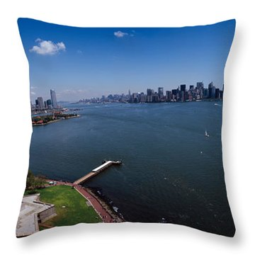 Statue Of Liberty Throw Pillows