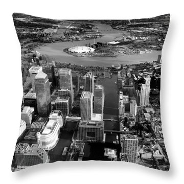 Aerial View Of London 5 Throw Pillow