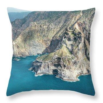 La Gomera Throw Pillows