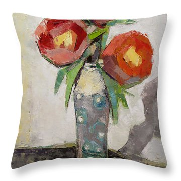 Aesthetic Throw Pillow by Becky Kim