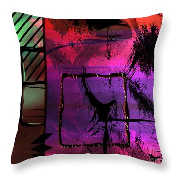 Affairs Throw Pillow
