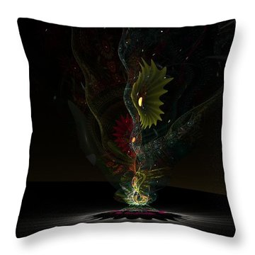 Affinity Throw Pillow by Peter R Nicholls