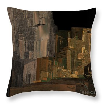 Afghanistan By Jammer Throw Pillow by First Star Art