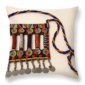 Beadwork Throw Pillows