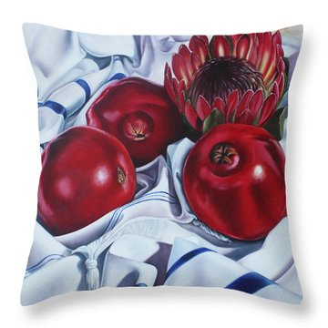 Africa Praying For Isreal Throw Pillow by Ilse Kleyn