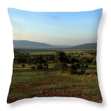 African Savannah  Throw Pillow
