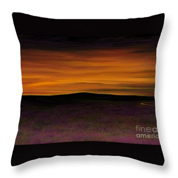 African Sky Throw Pillow