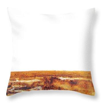 Endangered African Wild Dog - Original Artwork Throw Pillow