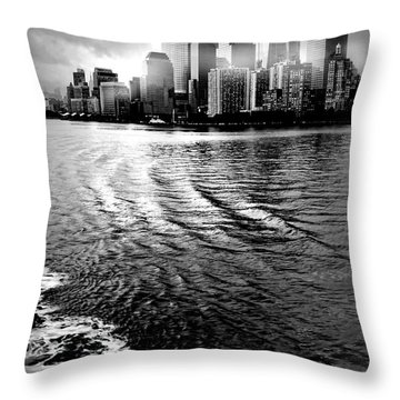 Aft Throw Pillow by Diana Angstadt