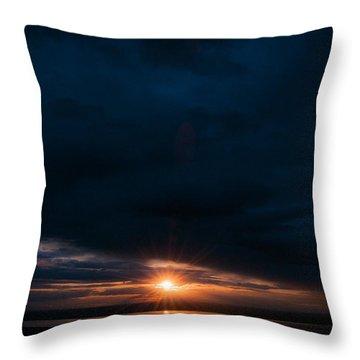 After Darkness Light Throw Pillow