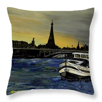 After Dawn II Throw Pillow by Mark Moore