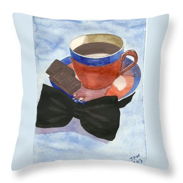 After Dinner Mints Throw Pillow by John Williams