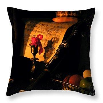 After Glow Throw Pillow by Joe Jake Pratt