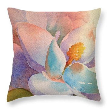 After Glow Throw Pillow by Tara Moorman