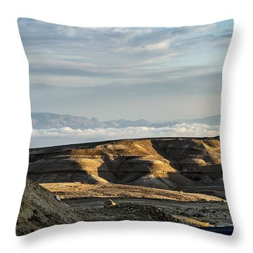 After Rain Colors Throw Pillow