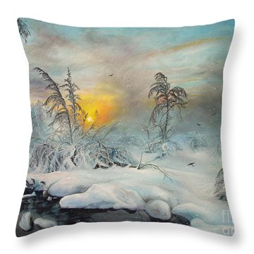 After Storm Throw Pillow