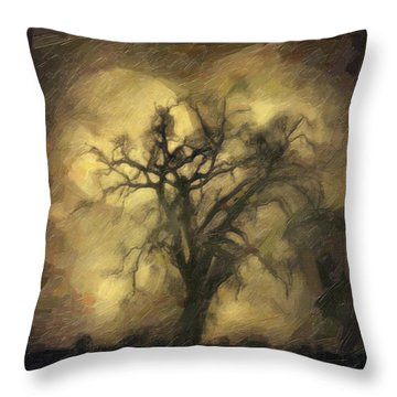 After Throw Pillow by Taylan Apukovska