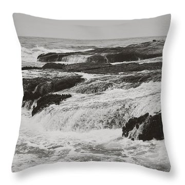 After The Crash Throw Pillow