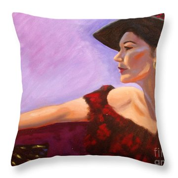 After The Dance Throw Pillow