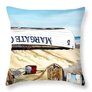 After The Races Throw Pillow