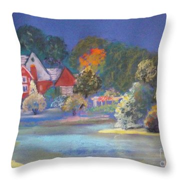 After The Rain  Throw Pillow by Sandra McClure