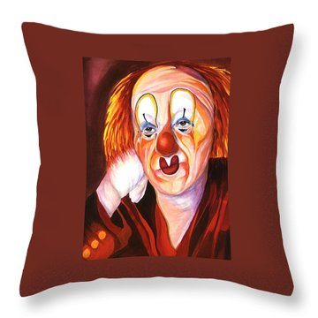 After The Show Throw Pillow by Carolyn LeGrand