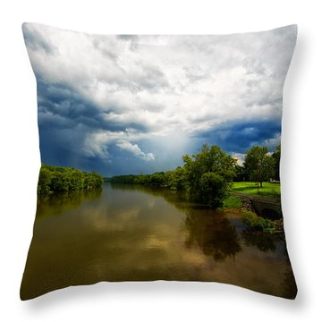 After The Storm Throw Pillow by Everet Regal