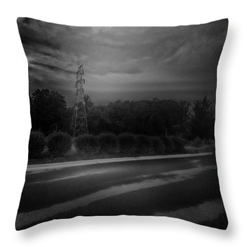 After The Storm Throw Pillow by J Riley Johnson