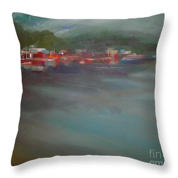 After The Storm Throw Pillow by Mary Hubley