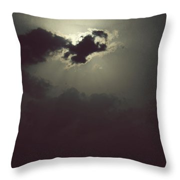 After The Storm Throw Pillow by Melanie Lankford Photography