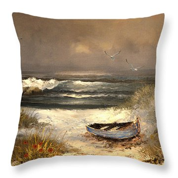 After The Storm Passed Throw Pillow