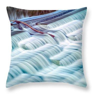 White Rock Lake Dallas 031015 Throw Pillow