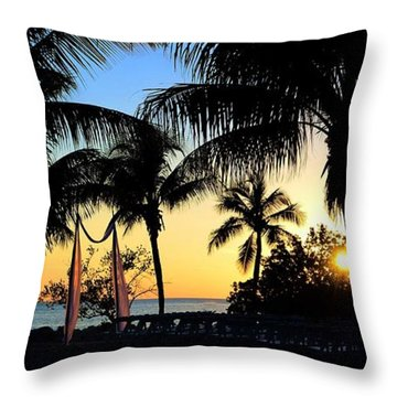 After The Wedding Throw Pillow by Pamela Blizzard