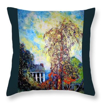 after Will Henry Stevens Throw Pillow