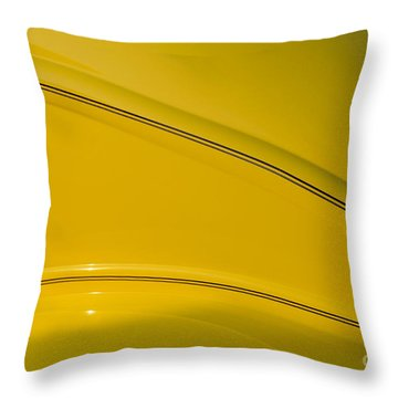 Afterglow Throw Pillow by Luke Moore