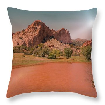 Afterglow Throw Pillow