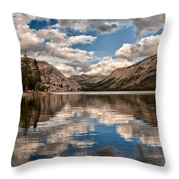 Afternoon At Tenaya Throw Pillow