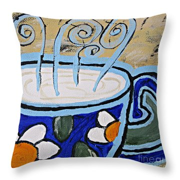 Afternoon Break Throw Pillow