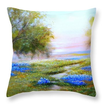 Afternoon Contemplation Throw Pillow